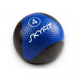 Набивной медицинский мяч 4 кг, синий SF – MB4K