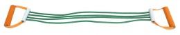 Эспандер плечевой V76 4 струны резиновый взр.