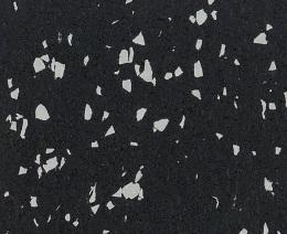 Резиновое рулонное покрытие черно-серое mix 15% 6 мм