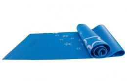 Коврик для йоги 173x61x0,3 см, с рисунком