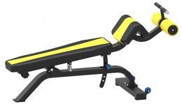 WS-1607 Скамья для пресса и спины гиперэкстензия, регулируемая