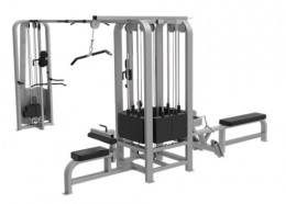 LWS9 Мультистанция 5-ти позиционная 2*100 кг 3*70 кг LWS-9085