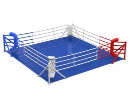 Ринг боксёрский на упорах. Боевая зона 4х4