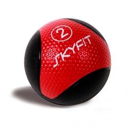 Медицинский мяч 2кг, красный SF – MB2K