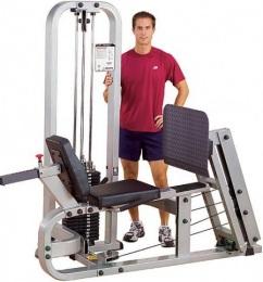 Body-Solid Pro Club Line Жим ногами горизонтальный SLP-500G