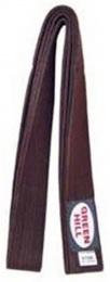 Пояс для единоборств KBO-1014, коричневый