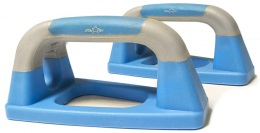Упоры для отжиманий «Утюжки», синие/серые