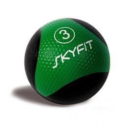 Медбол набивной 3 кг, зеленый SF – MB3K