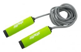 Скакалка RP-105 со вспененной ручкой, зеленый/черный