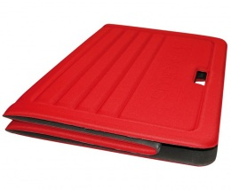 Складной коврик (мат) 170Х70Х1,3 см, красный 1324