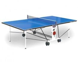 Стол для настольного тенниса Compact Outdoor LX2, с сеткой