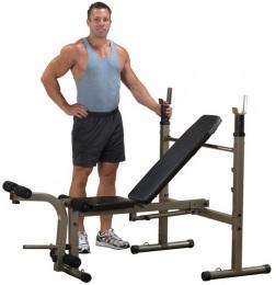 Body Solid Универсальная скамья для жима складная BFOB10