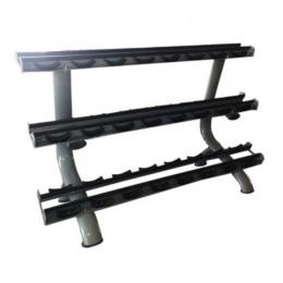645А Стойка для гантелей Dumbbell Rack (12 pairs)