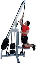 """Канатный тренажер для тренировок в кроссфите """"Тяга веревочного каната"""" MARPO KINETICS V 250"""