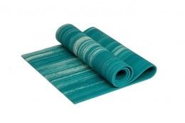 Коврик для йоги 8 мм морская волна