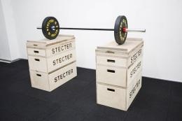 Комплект тяжелоатлетических плинтов+ доп. секция(Н=89 см)