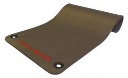 Коврик для аэробики и йоги 12,5 мм NBR серый 1800х610х12,5 мм