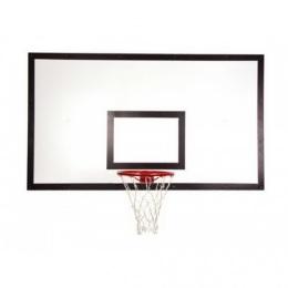 Щит баскетбольный игровой 1050х1800 мм, ФАНЕРА (толщина фанеры 15 мм) на металлокаркасе