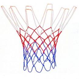 Сетка баскетбольная, D-3,1 мм, «триколор», цветная