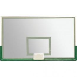 Щит баскетбольный, проф. СТЕКЛО 10 мм, без защиты, TB 8103 (без кольца) 1050х1800 мм (120х100)