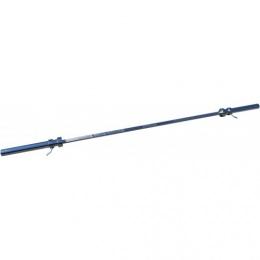 Гриф для штанги D-50, L2200, гладкая втулка, до 250 кг, замки-пружины
