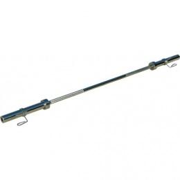 Гриф с вращающимися ручками D-50, гладкая втулка, замки-пружины