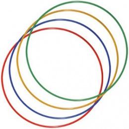 Обруч гимнастический Стандарт d18 мм (цветной)