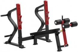 Aerofit Sterling SL7030 - Олимпийская скамья с отрицательным наклоном для жима