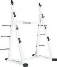 Vasil Gym Стойка для хранения 4 штанг, настенная B.216