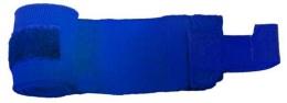 Бинт боксерский С-311, 4,5м, эластик, синий