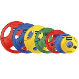 Набор обрезиненных дисков, олимпийские HYPERSET D-51 мм, 1,25-25 кг