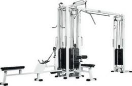 Vasil Gym 4-х позиционная мультистанция с блочной рамкой, профессиональная B.305.2