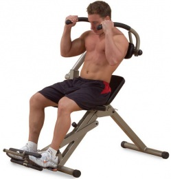 Body Solid Тренажер для мышц брюшного пресса спины на свободном весе BFAB20