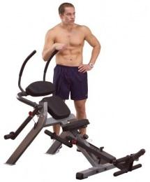 Body Solid Тренажер для мышц брюшного пресса спины на свободном весе GAB300