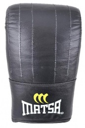 Перчатки для бокса снарядные, кожа