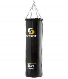 Мешок боксерский E254, тент, 35 кг, черный