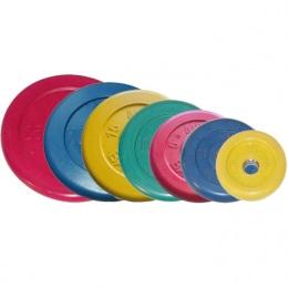Набор дисков, цветные Barbell, D-51 мм, 1,25-25 кг, Стандарт