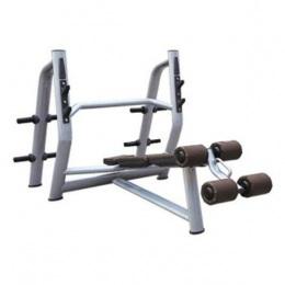 643 Скамья–стойка для жима под углом вниз (Olympic Decline Bench)
