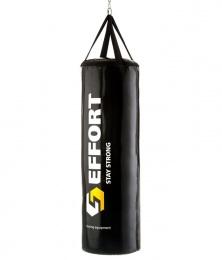 Мешок боксерский E163, тент, 40 кг, черный
