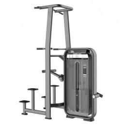 Fusion Pro E-7009 Турник, брусья с противовесом Стек 110 кг