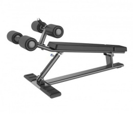 Fusion Pro E-7037 Спортивная скамья для тренировки пресса и спины, регулируемая