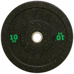 Бамперный диск для кроссфита 450 мм. с цветными вкраплениями D-51, 10 кг