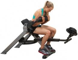 Body Solid Тренажер для мышц брюшного пресса спины на свободном весе GAB350