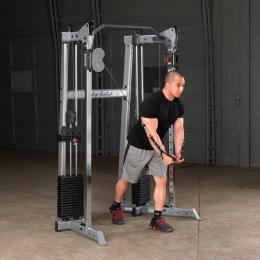 Профессиональный угловой Кроссовер стек 2х72,5 кг Body Solid