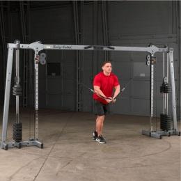 Профессиональный Кроссовер стек 2х72,5 кг Body Solid