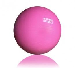 Гимнастический мяч 55 см розовый