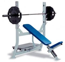 HS-4010 Олимпийская наклонная скамья