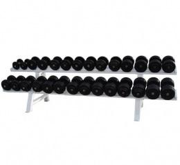 Barbell Гантельный ряд от 52.5 до 60 кг. с шагом 2 кг. 5 пар.