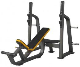 Insight Gym Наклонная скамья со стойками для жима под углом вверх IG-905 (SR005)