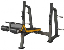 Insight Gym Скамья стойка для жима под углом вниз IG-906 (SR006)